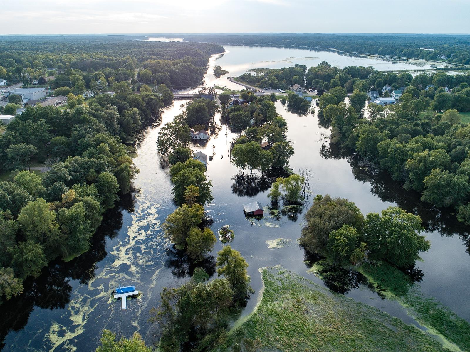 Montello Wisconsin Flooding