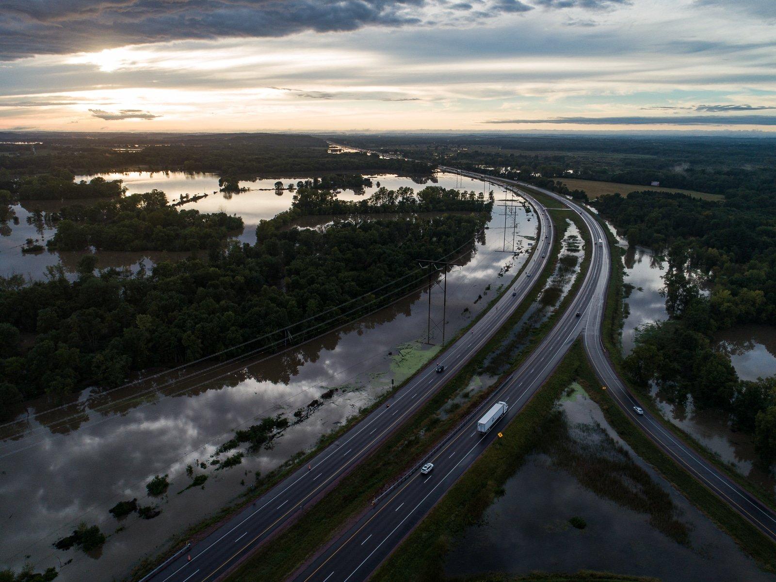 Portage Wisconsin Flooding