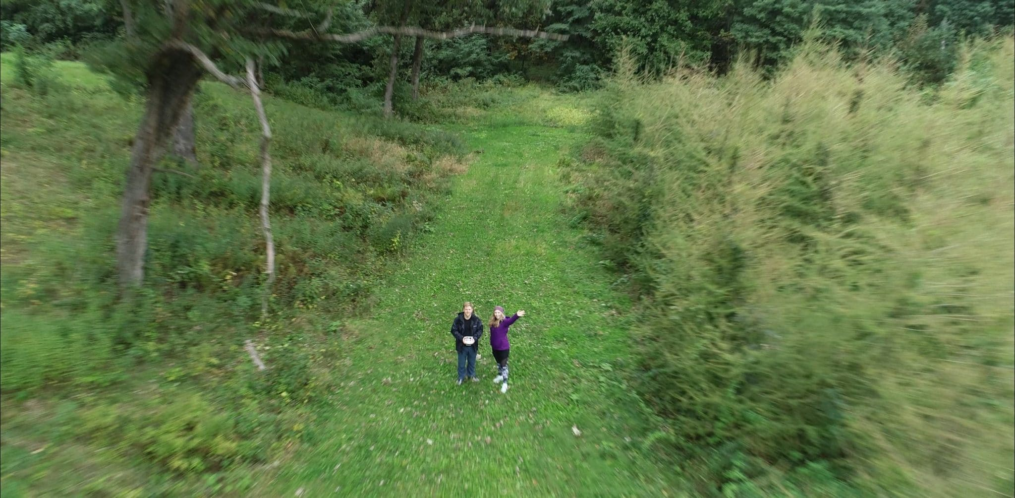 Wayside Park In Portage, Wisconsin – Drone Boomerang
