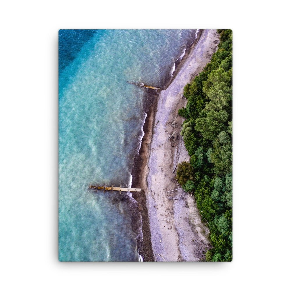 Lake Michigan Canvas