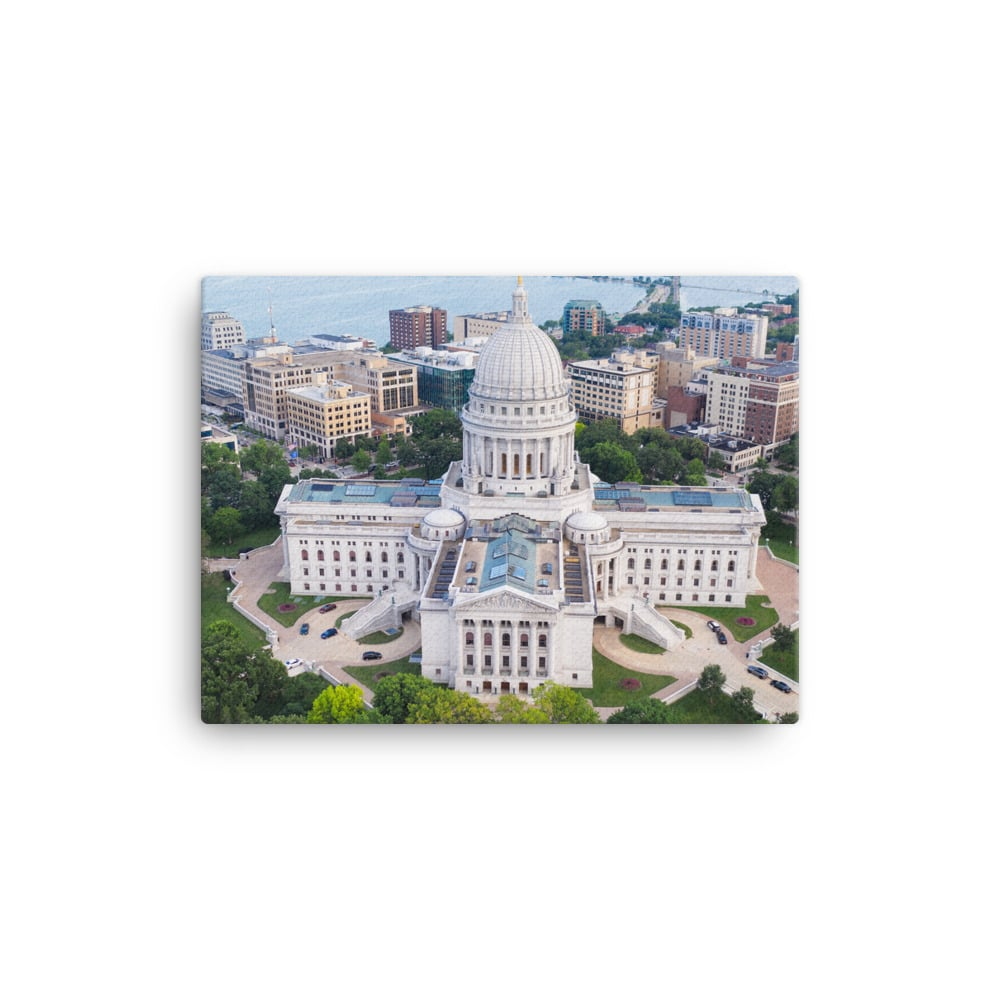 Wisconsin State Capitol Canvas