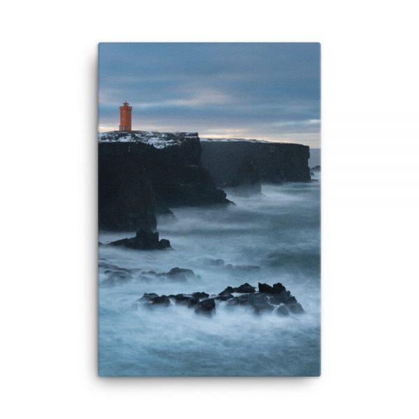 Svörtuloft Lighthouse Canvas 1