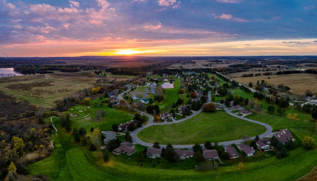 Saddle Ridge From The Air (Luminar 4 Photo Edit) 11