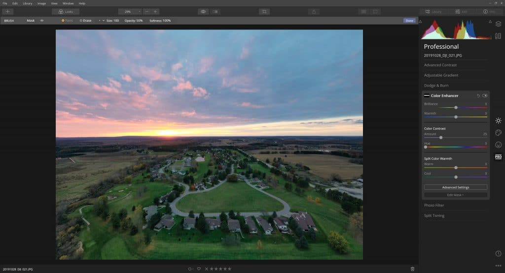 Saddle Ridge From The Air (Luminar 4 Photo Edit) 5