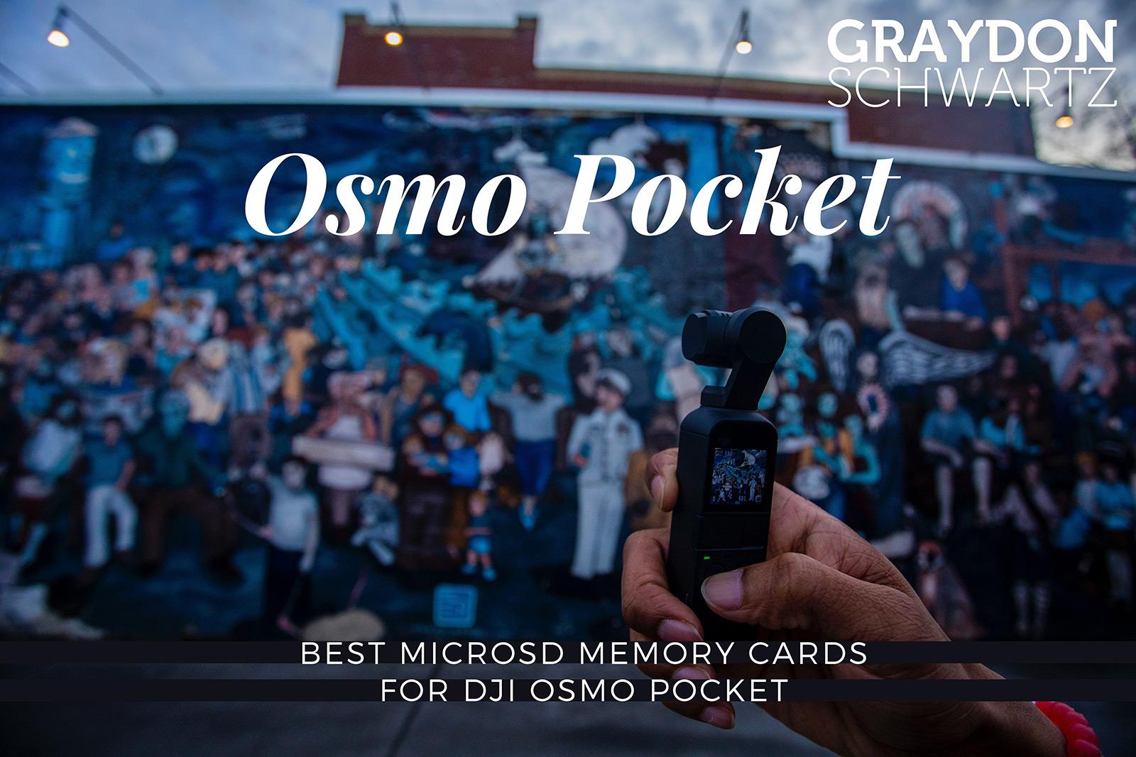 Best MicroSD Memory Cards for DJI Osmo Pocket