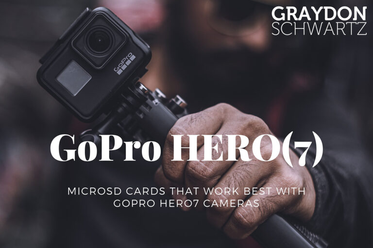 MicroSD Cards That Work Best with GoPro HERO7 Cameras
