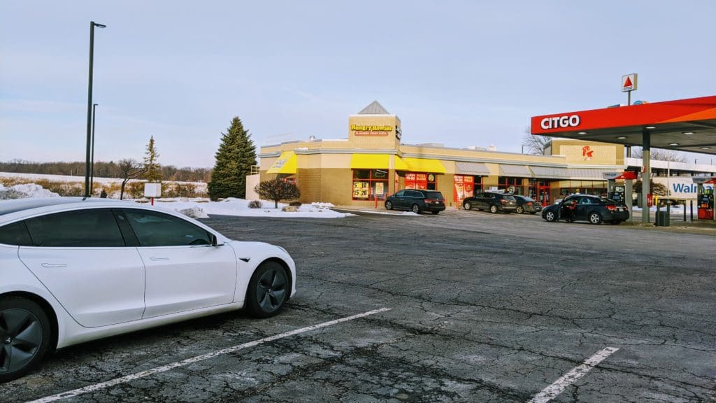 Tesla Road Trip: Traveling from Madison WI to Comber ON - Day 1 3
