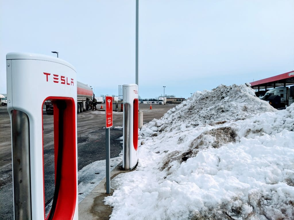 Tesla Road Trip: Traveling from Madison WI to Comber ON - Day 1 6
