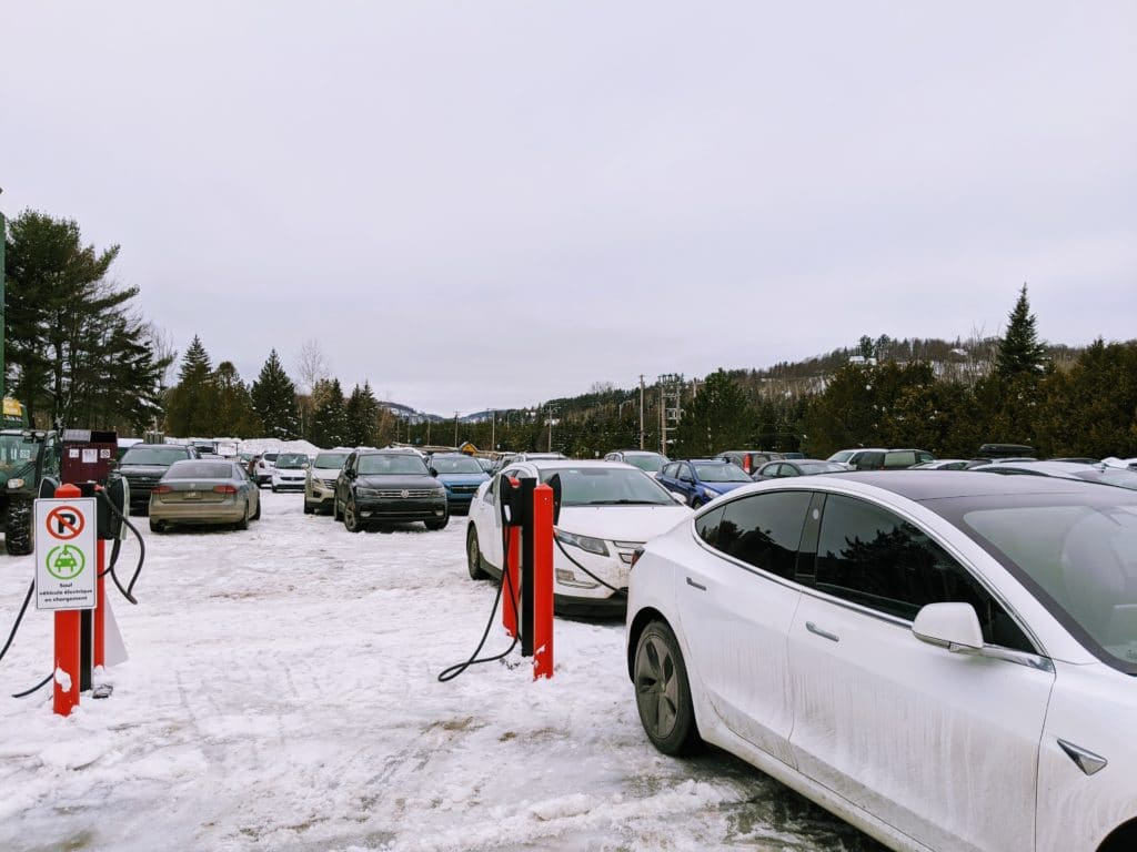 Destination Charger at Saint-Sauveur Summit