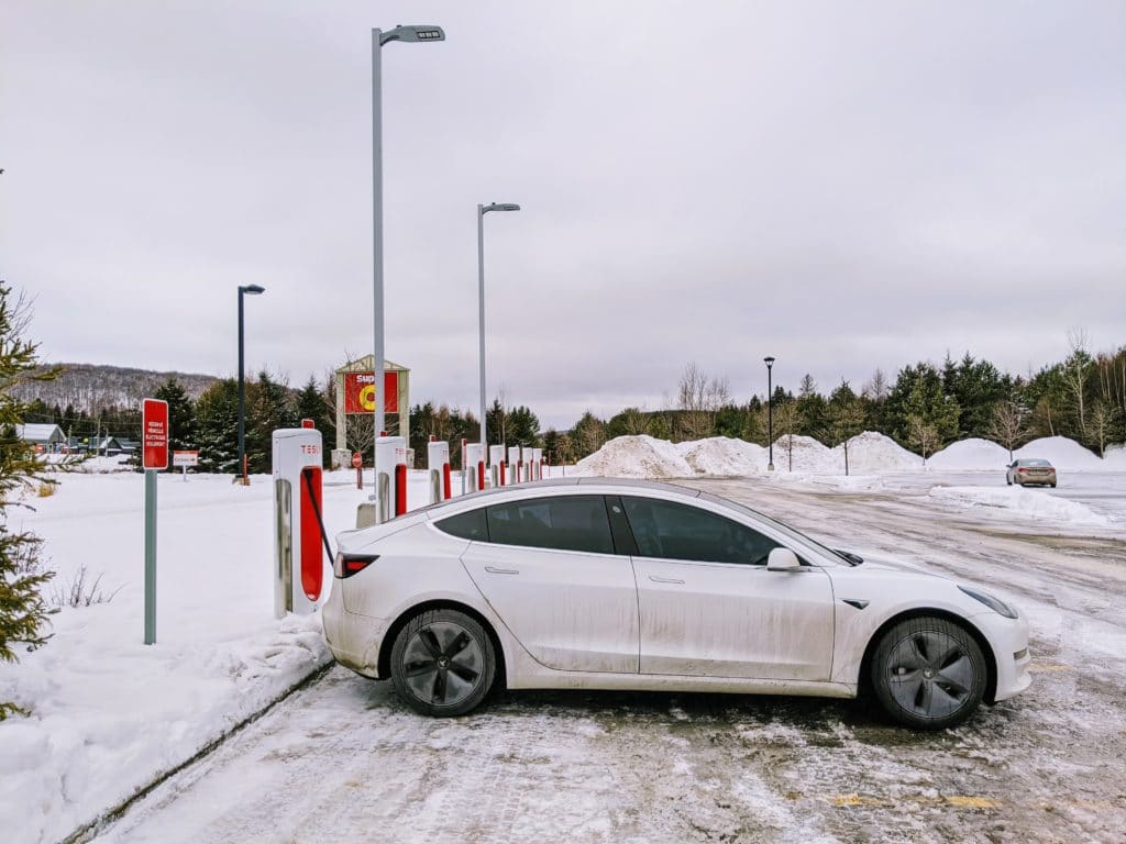 Mont-Tremblant, QC Tesla Supercharger