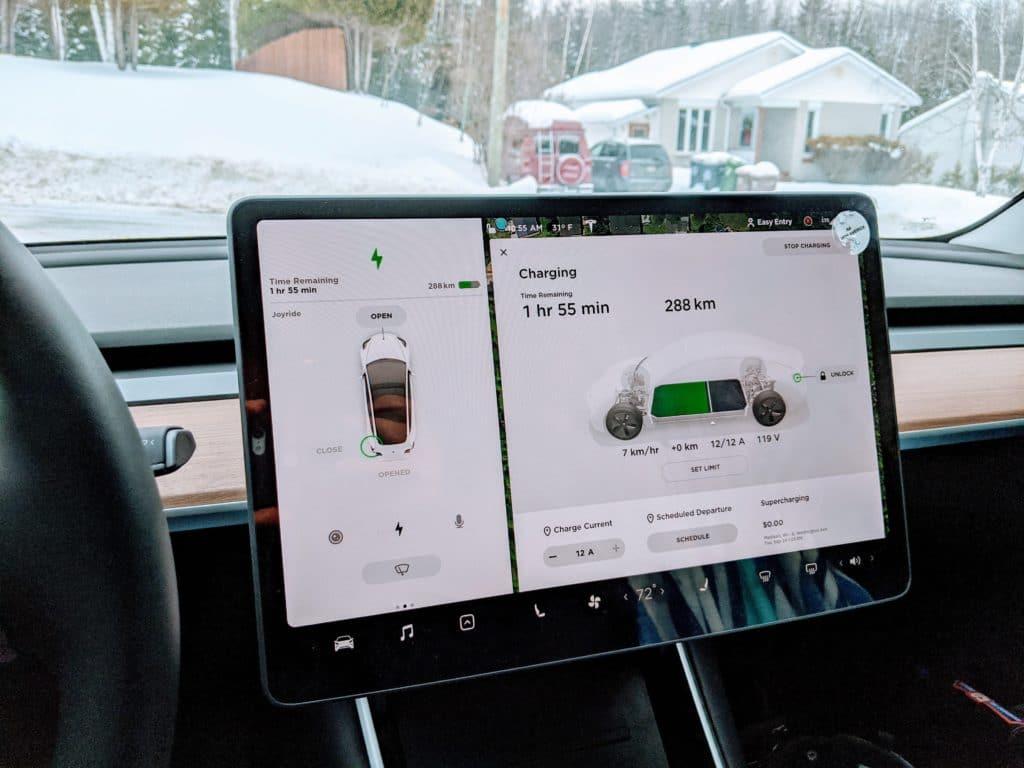 Airbnb Tesla Charging