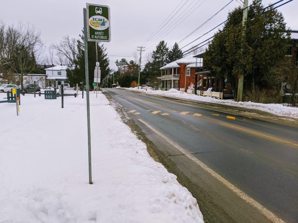 Mont-Tremblant Bus Stop