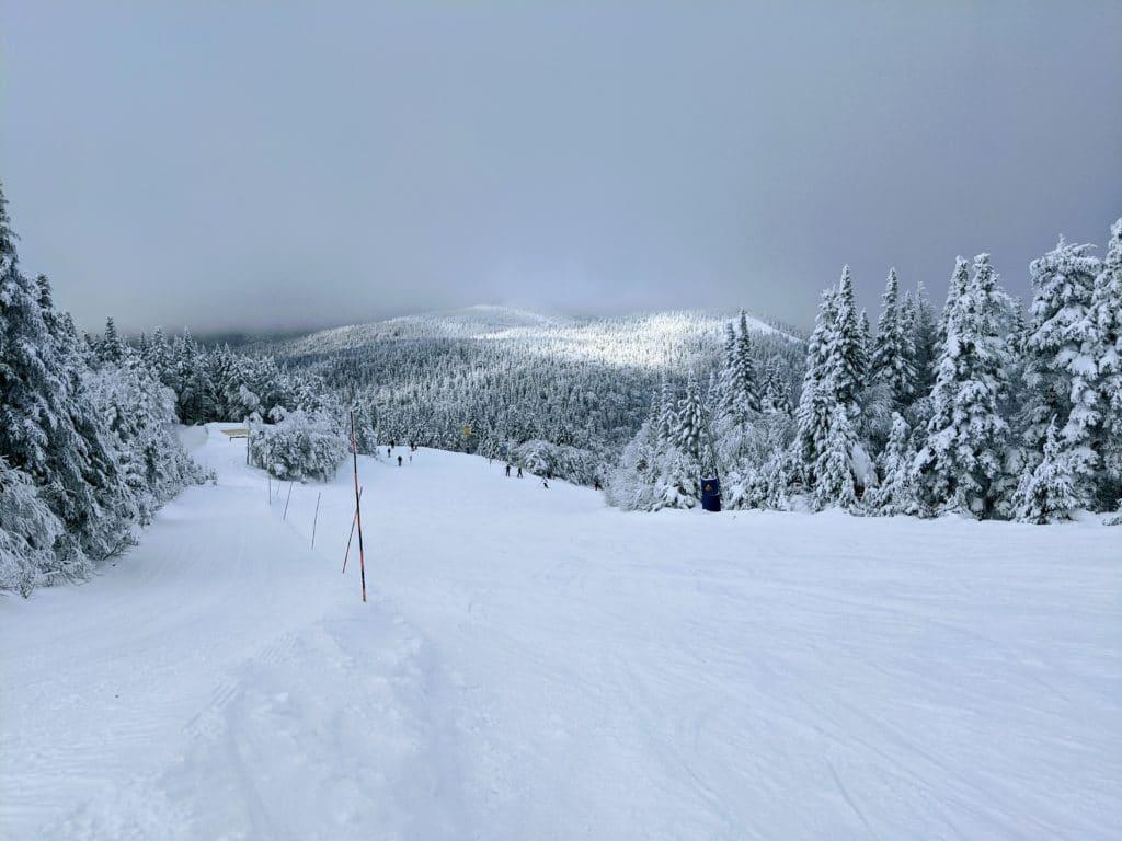 Le P'tit Bonheur Ski Run