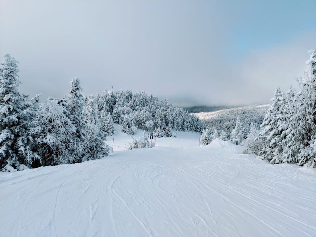 La Crete Ski Run