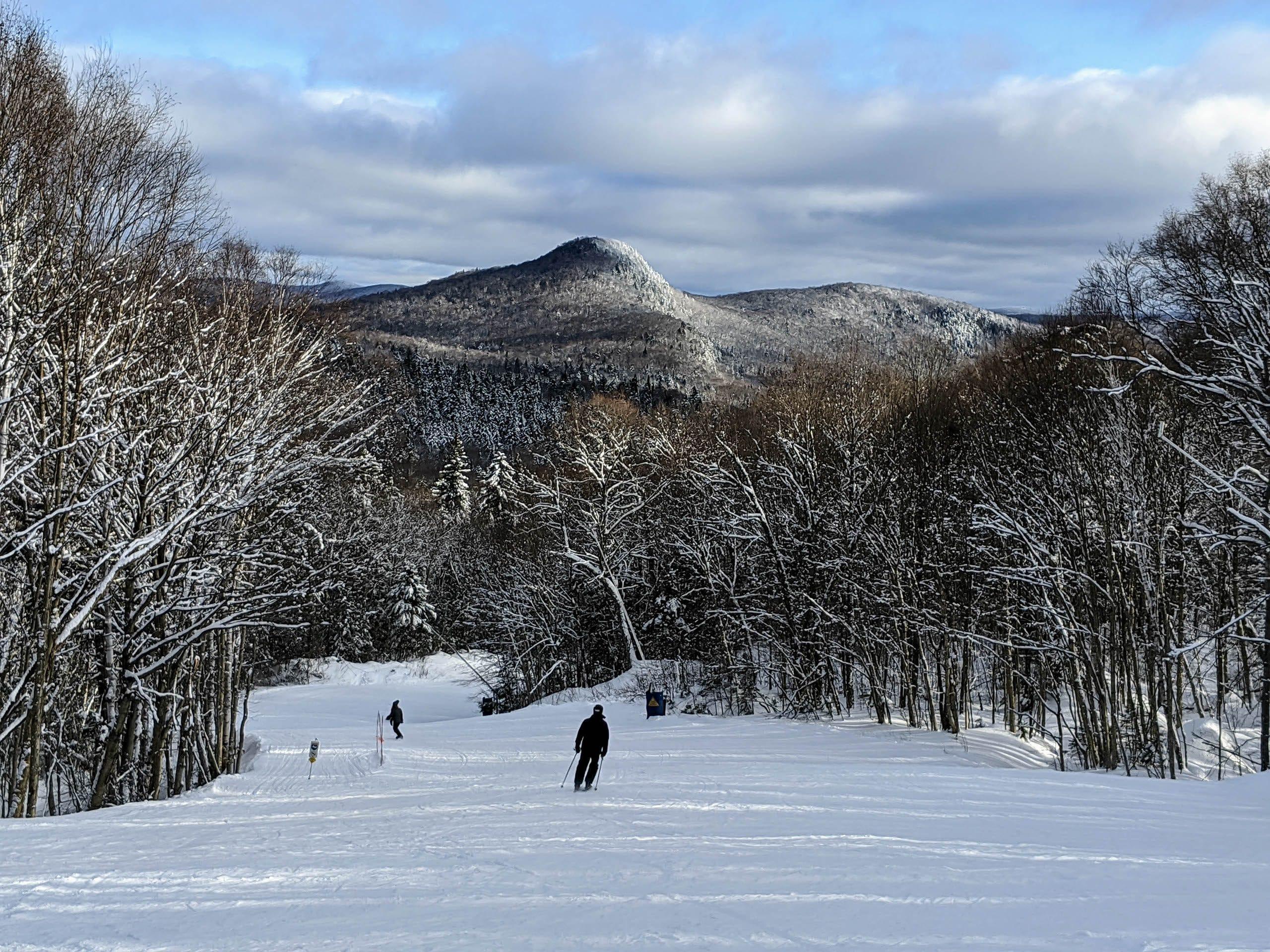 Skieurs au Mont-Tremblant