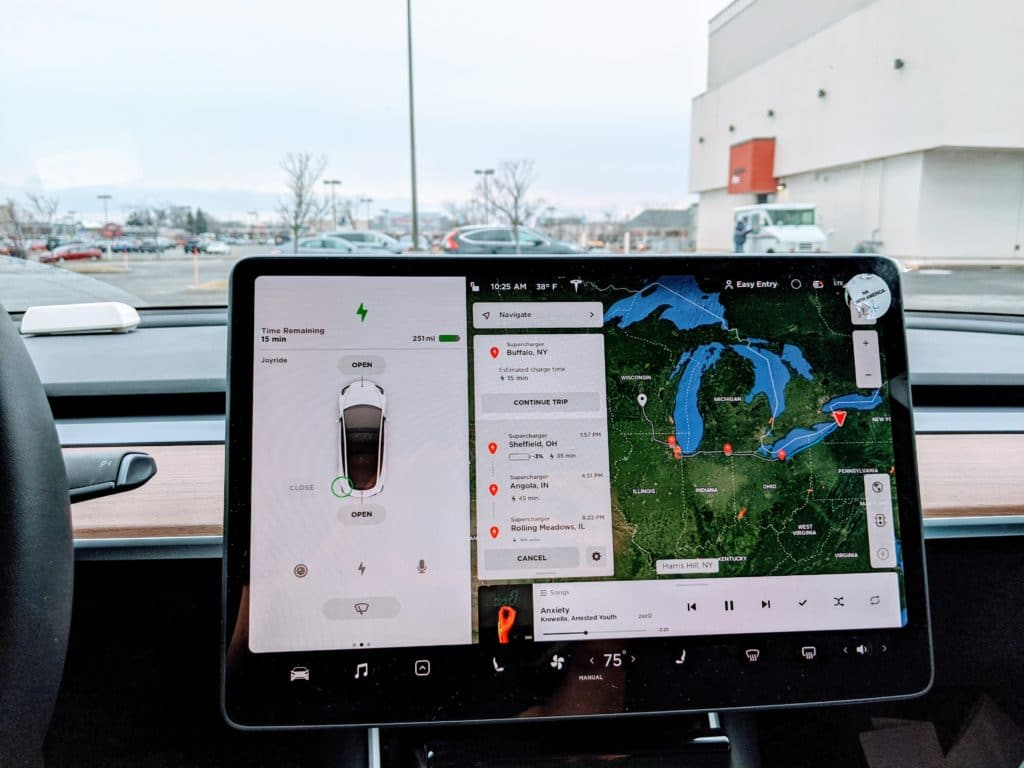 Tesla Navigation Routing