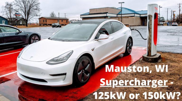 Mauston, WI Supercharger - 125kW or 150kW? Let's Find Out! 1