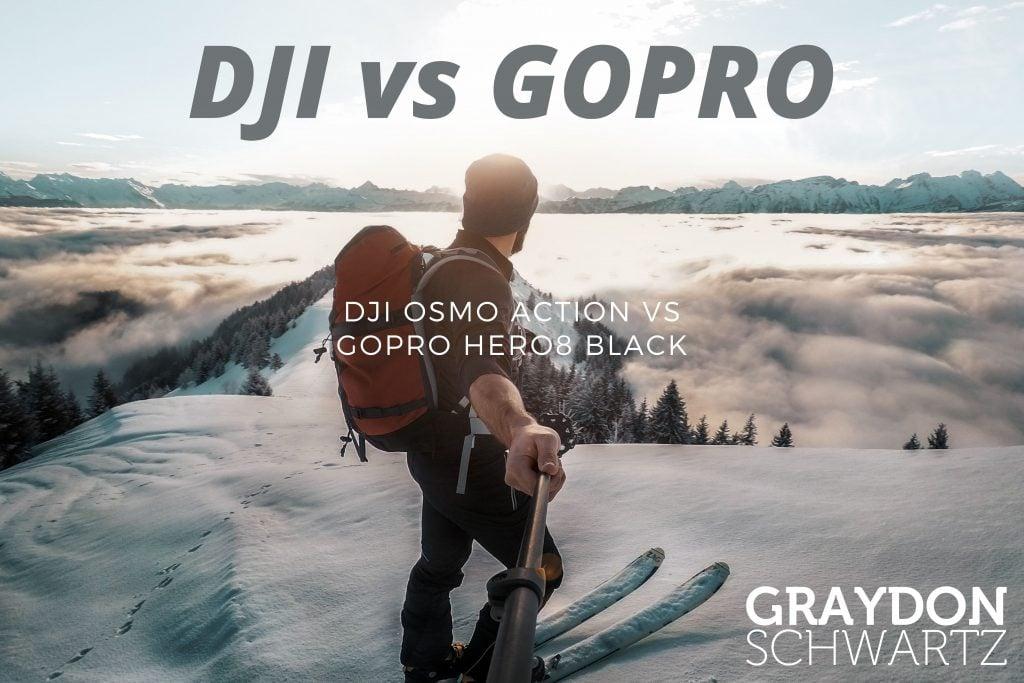 DJI Osmo Action vs GoPro Hero8 Black