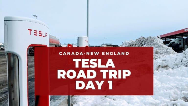 Tesla Canadian-New England Road Trip inspired by Bjørn Nyland! - Day 1 10