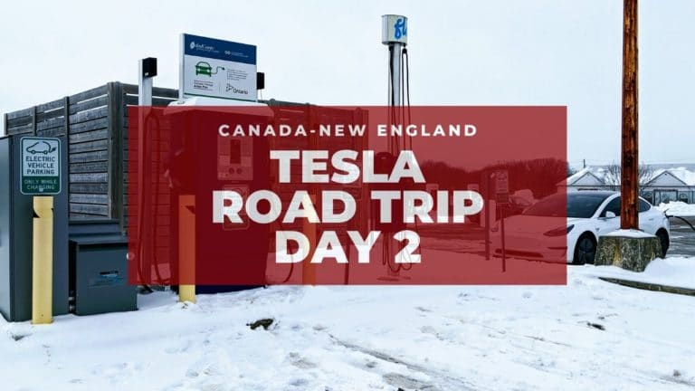 Tesla Canadian-New England Road Trip: Niagara Falls! - Day 2 9