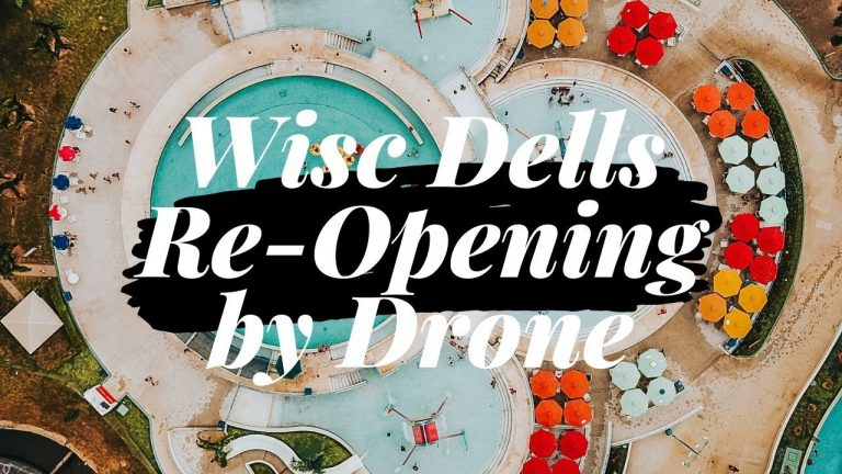 COVID-19: Drone Footage of Wisconsin Dells During Re-Opening 5