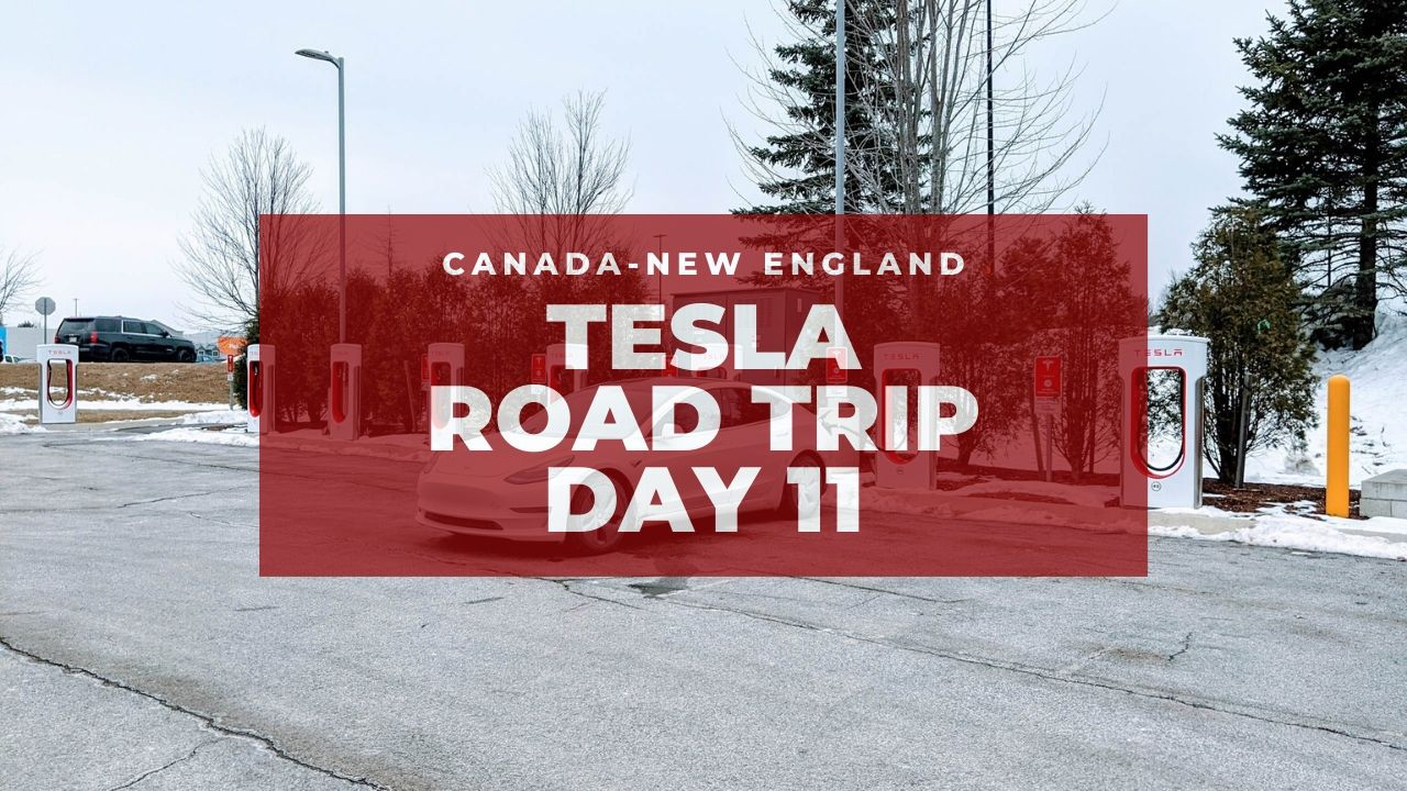 Tesla Canadian-New England Road Trip: Reached Maine! – Day 11 1