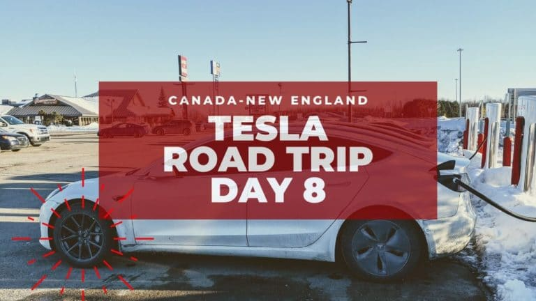 Tesla Canadian-New England Road Trip: Missing Aero Cap! – Day 8 8