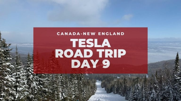 Tesla Canadian-New England Road Trip: Le Massif! – Day 9 7