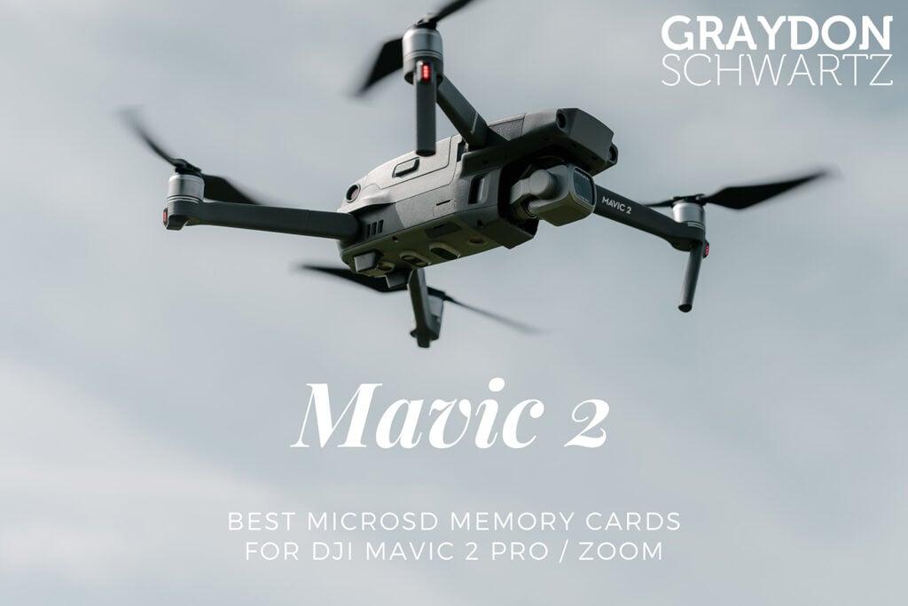 Best MicroSD Memory Cards for DJI Mavic 2 Pro / Zoom