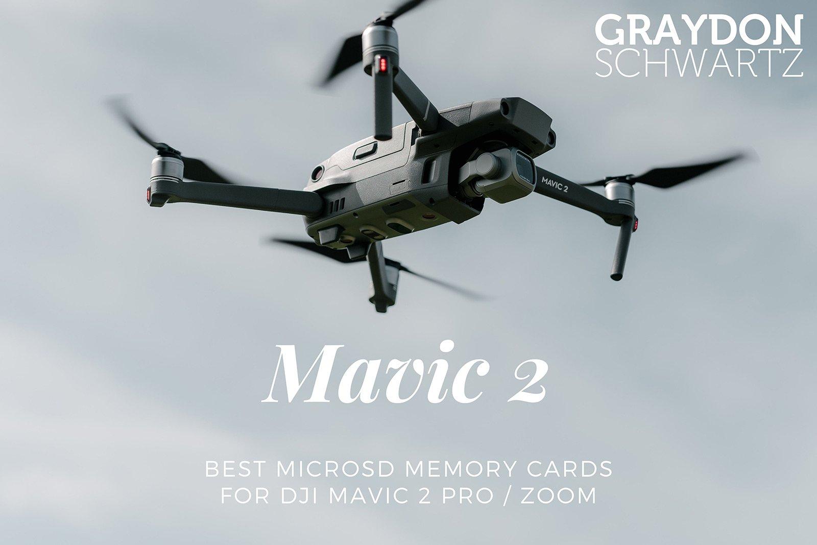 Las mejores tarjetas de memoria MicroSD para el DJI Mavic 2 Pro / Zoom