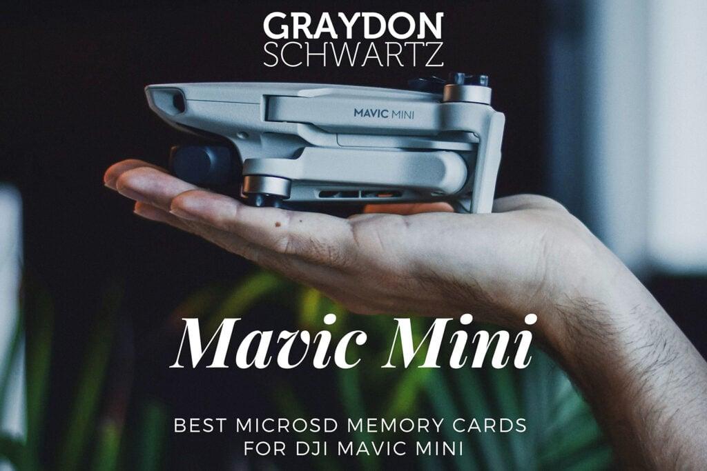 Best MicroSD Memory Cards for DJI Mavic Mini