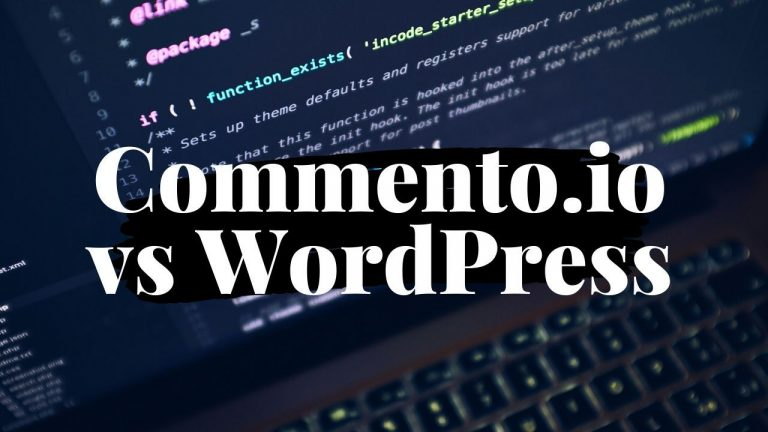 Self-Hosted Commento vs Built-In WordPress Comments 1