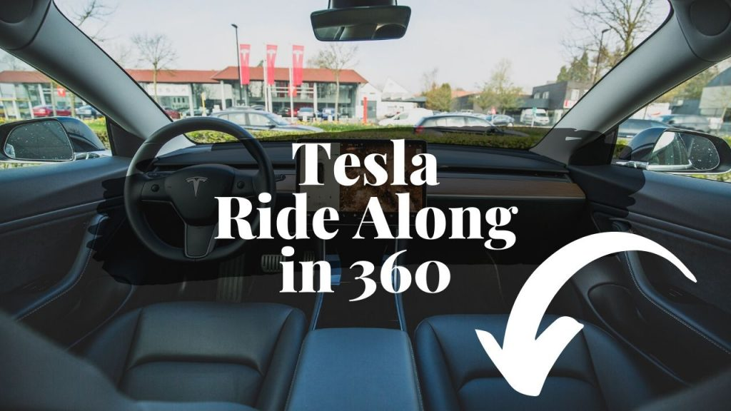 Tesla Model 3 Roundabout Challenge with Autopilot and 360 Degree Views 3