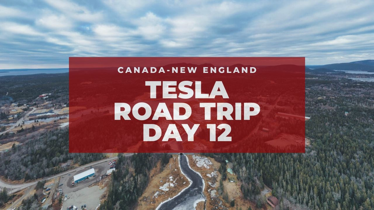 tesla voyage en nouvelle-angleterre inspiré par bjorn nyland jour 12 | graydonschwartz.com