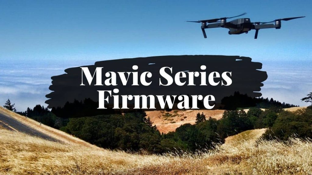 How to Re-Install Firmware on DJI Mavic 2 Pro/Zoom, Enterprise Series, Mavic Air 2 or Mavic Mini 1