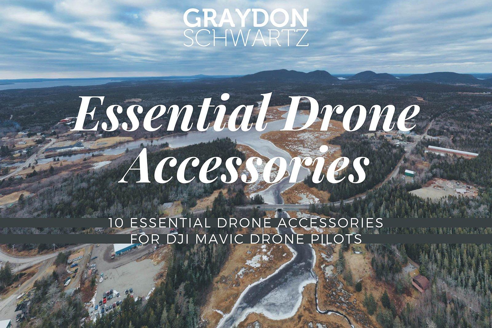 10 Essential Drone Accessories For DJI Mavic Drone Pilots
