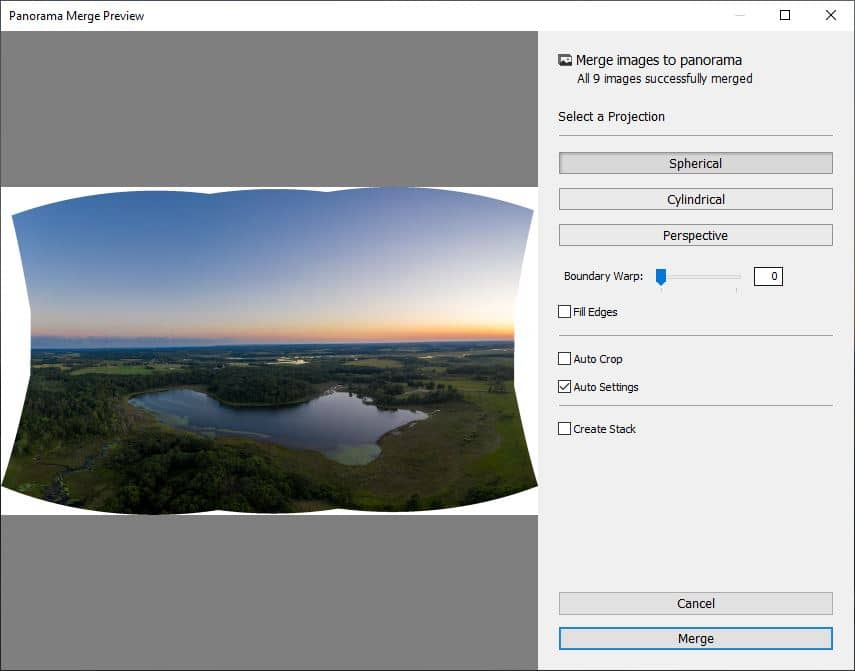 Learn How Luminar Can Quickly Transform Your Drone Panoramas 2