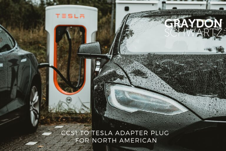 CCS1 to Tesla Adapter Plug for North American