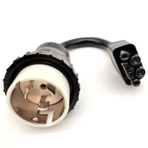 50A Locking Shore Power (SS2-50 / CS6365) Adapter for Tesla Model S/X/3 Gen 2