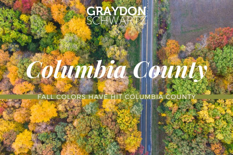 Fall Colors Have Hit Columbia County 2