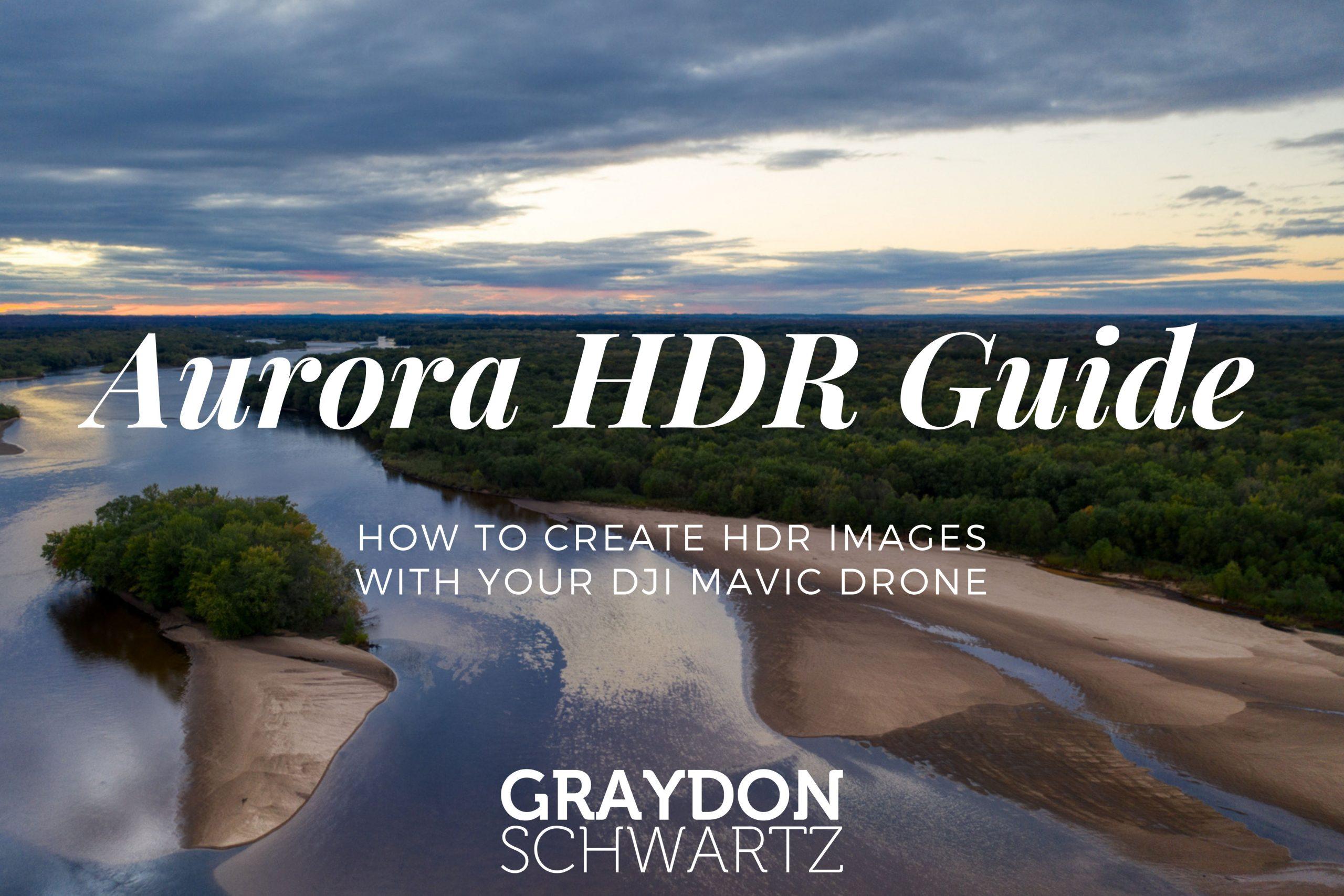 Cómo crear imágenes HDR con tu dron DJI Mavic