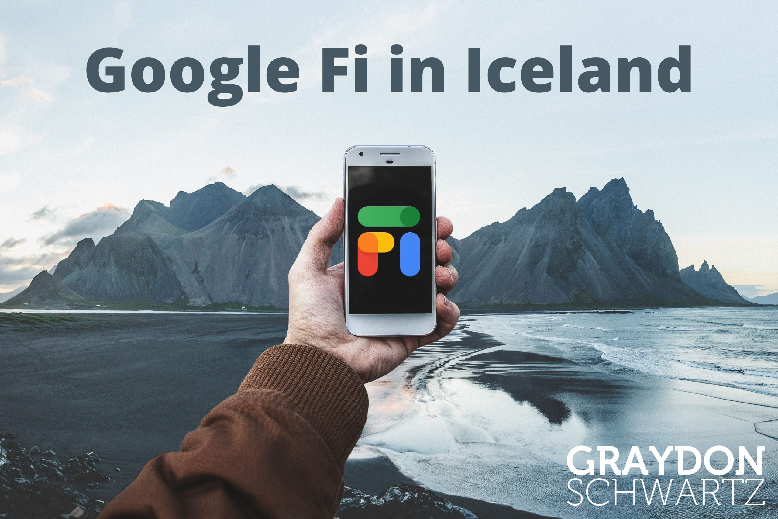 Wie gut funktioniert Google Fi in Island?