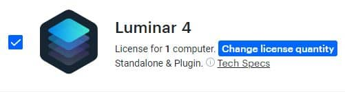luminar 4 change license quantity | graydonschwartz.com
