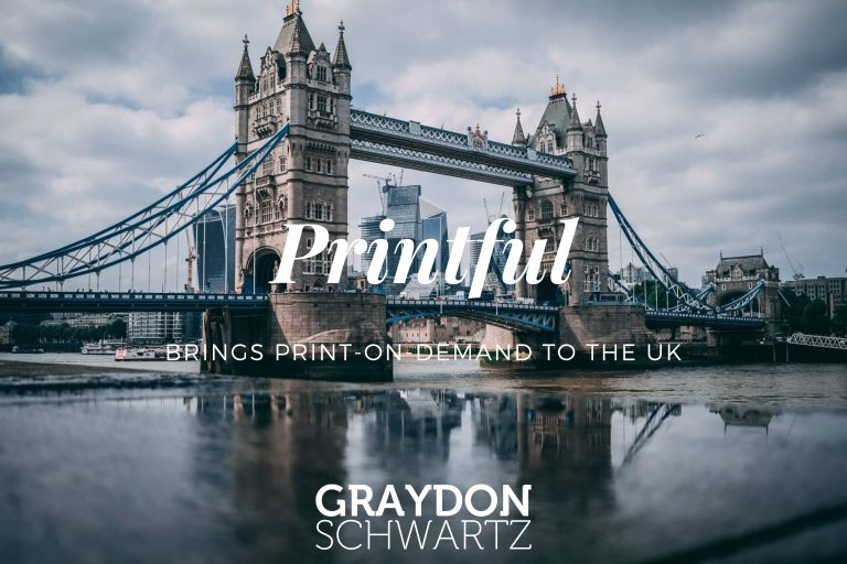 Printful Brings Print-on-Demand to the UK