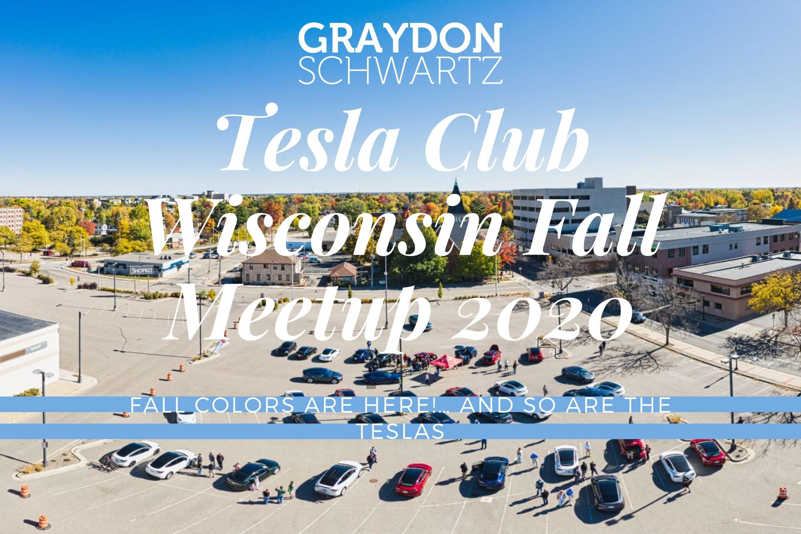 Tesla Club Wisconsin Herbsttreffen 2020
