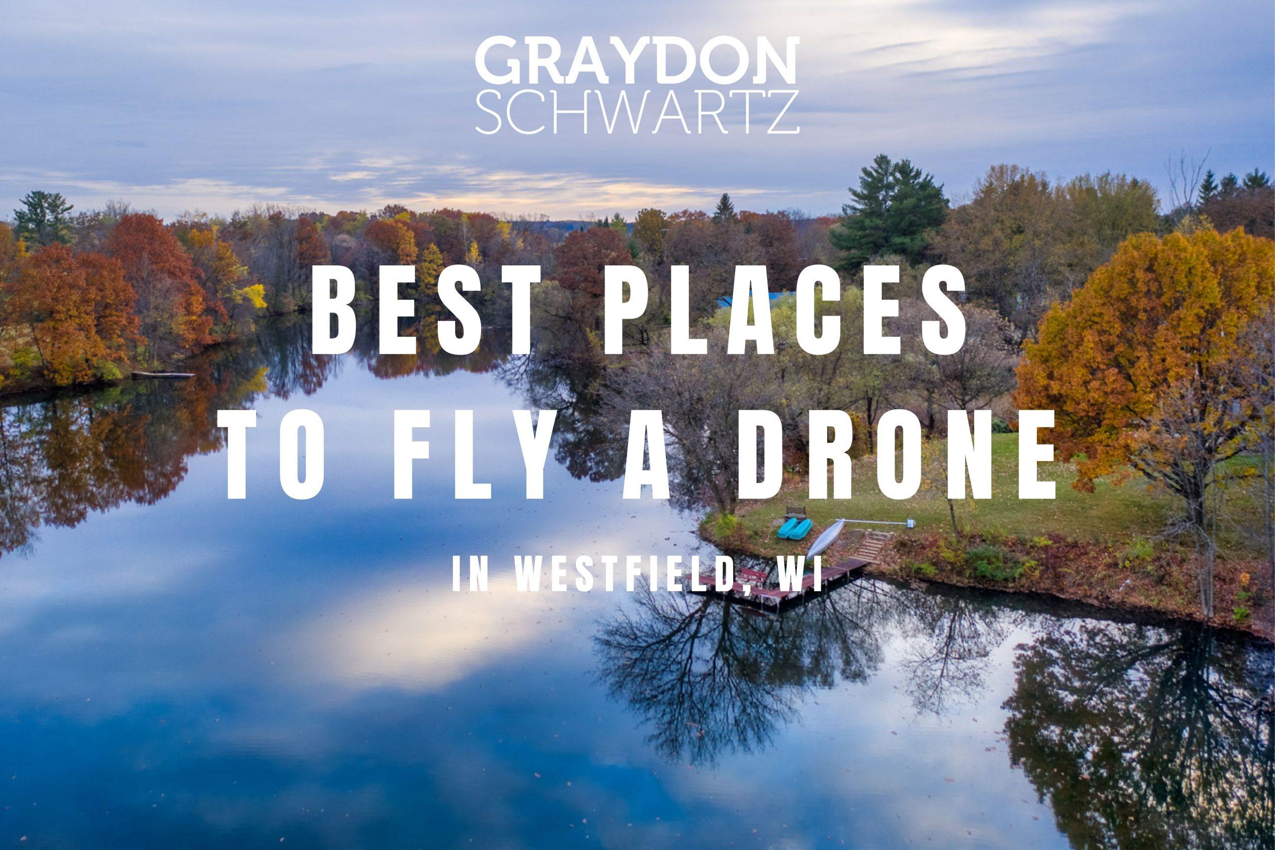 Los 5 mejores lugares para volar un dron en Westfield, Wisconsin