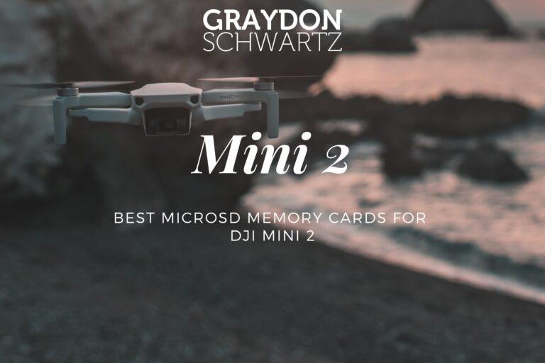 Best MicroSD Memory Cards for DJI Mini 2