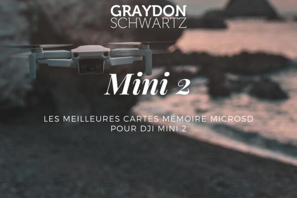 Les meilleures cartes mémoire MicroSD pour DJI Mini 2