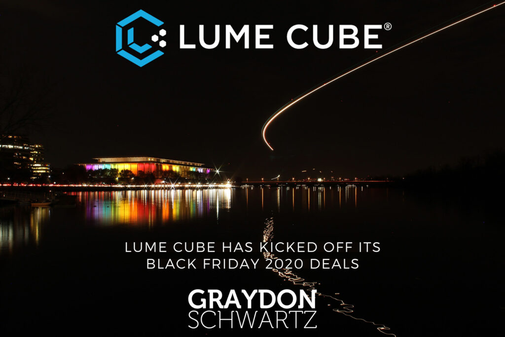 Lume Cube Has Kicked off Its Black Friday 2020 Deals