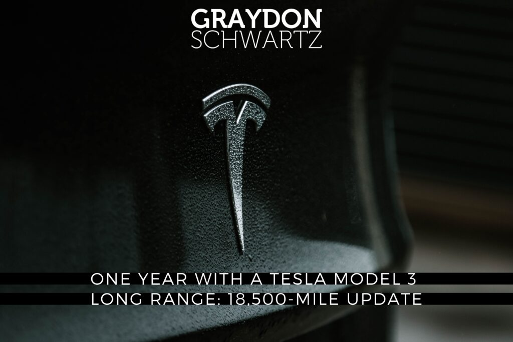 Un año con un Tesla Model 3 Long Range: Actualización de 18.500 millas